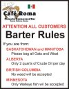 Barter Rules